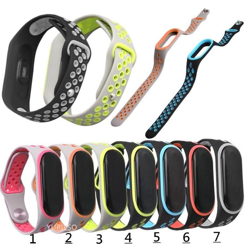 Bracelet pour Xiaomi Mi Band 3 4 Sport Bracelet montre bracelet en silicone pour bande Xiaomi mi 3 4 Bracelet Miband 4 3 Bracelet