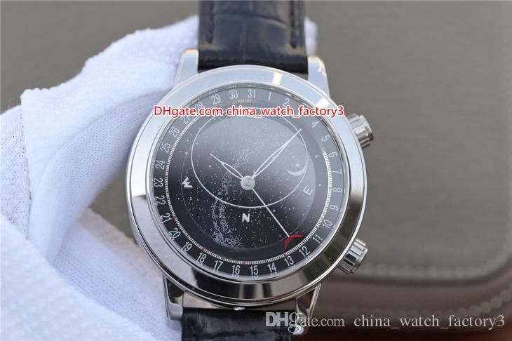 8 Стиль Topselling Лучшее качество 44mm 6104 6102 P-001 серии N Кожа Bands Швейцарский Cal.240 LU CL C Движение Автоматические Мужские часы Наручные часы