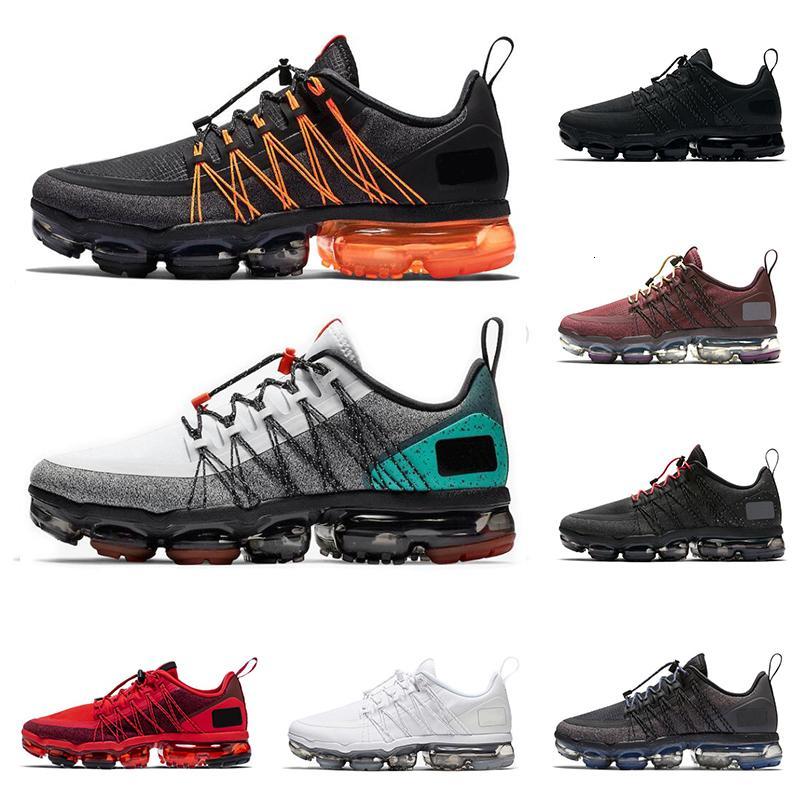 De calidad superior de 2019 hombres mujeres utilidad funcionando el aire zapatos para correr el triple negro blanco toque tropical rojo instructor para hombre de las zapatillas de deporte de moda