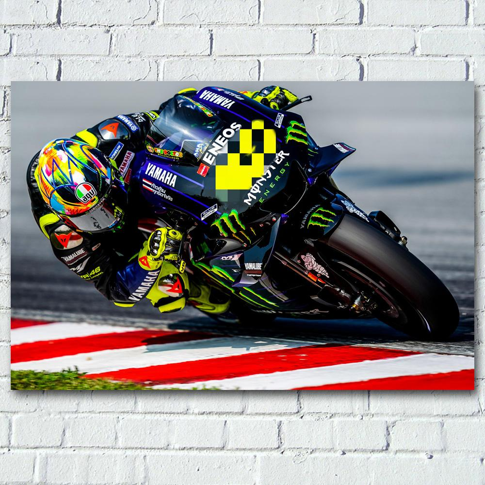 Art print POSTER CANVAS motorcycle