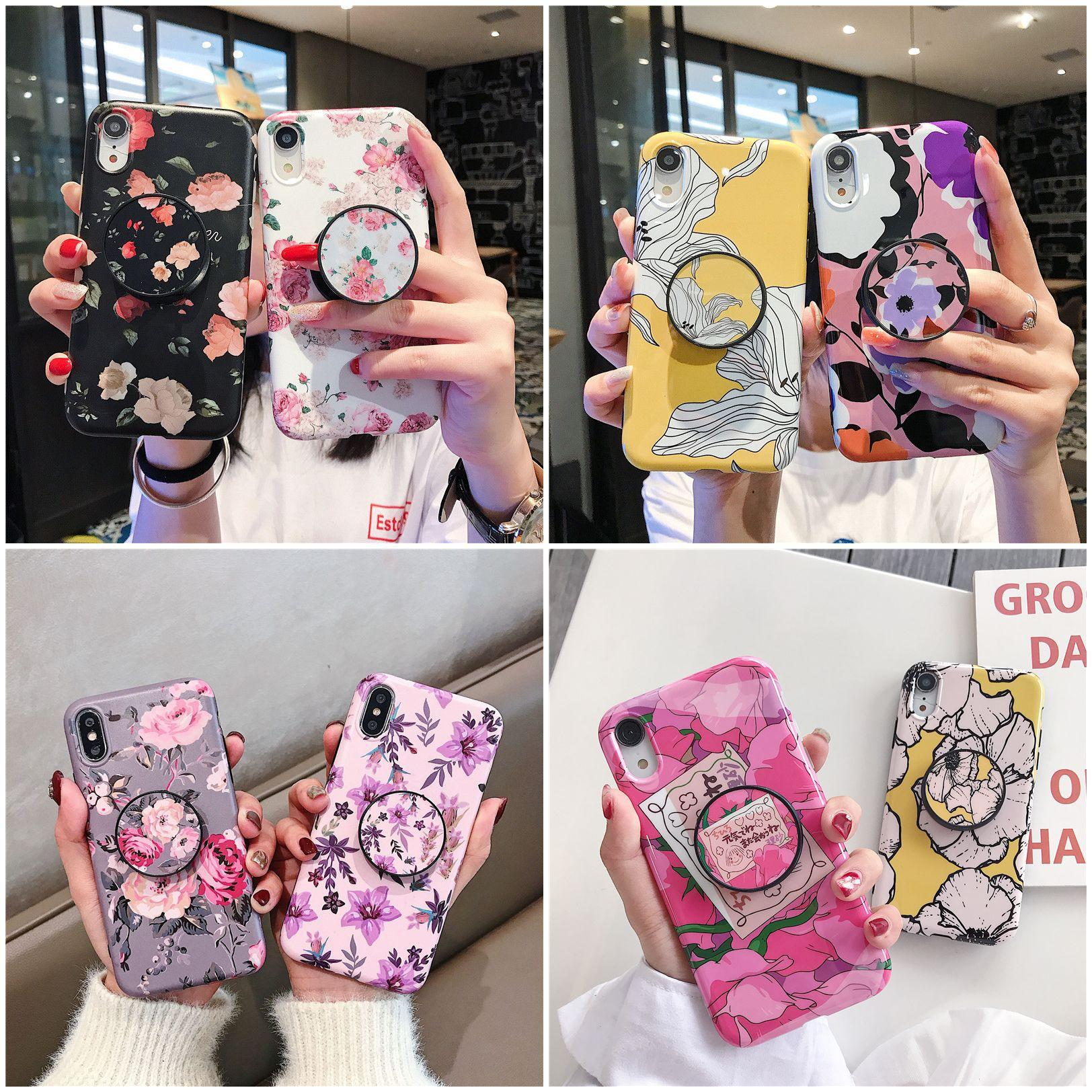 Cyber Star Cell Phone Case With Bracket Holder For Iphone6 7/8/X/Xs Max 11 Pro Max Protective Cover For Apple Phone Cover