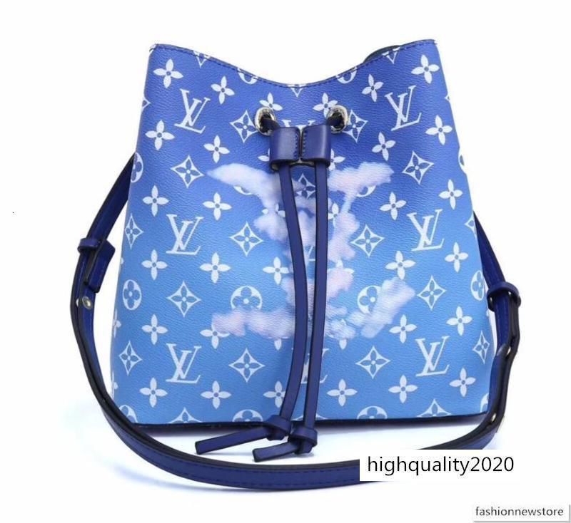 kadınlar tasarımcı lüks bulutlar Escale NEONOE kepçe New'in moda çantası crossbody haberci omuz çantaları hakiki deri