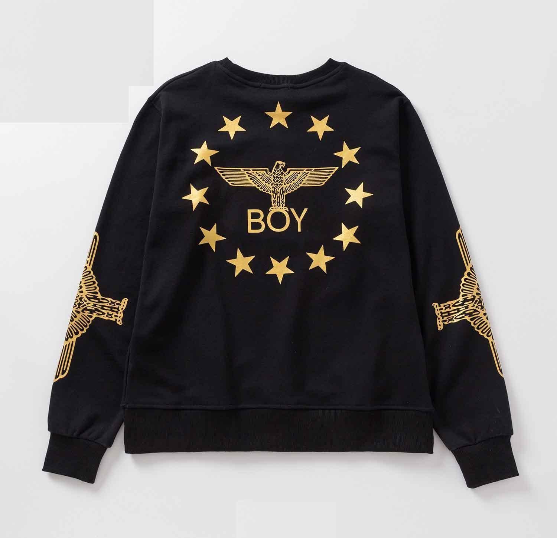 YEOU Unisex Hoodie Letter Printed Round Collar Hoodie Coat Jacket Pullover Sweatshirt
