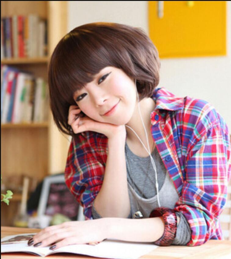 WIG Free Shipping New Fashion Womens Girls Short Curly Bob Hair Full Wigs Cosplay Party