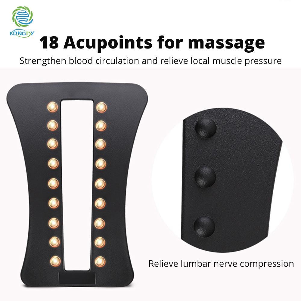 Vendita all'ingrosso Magneti posteriori Stretching Multilevel Supporto lombare Rilassamento Mate Mate Magic Bar Attrezzatura per il fitness Massaggio alla schiena