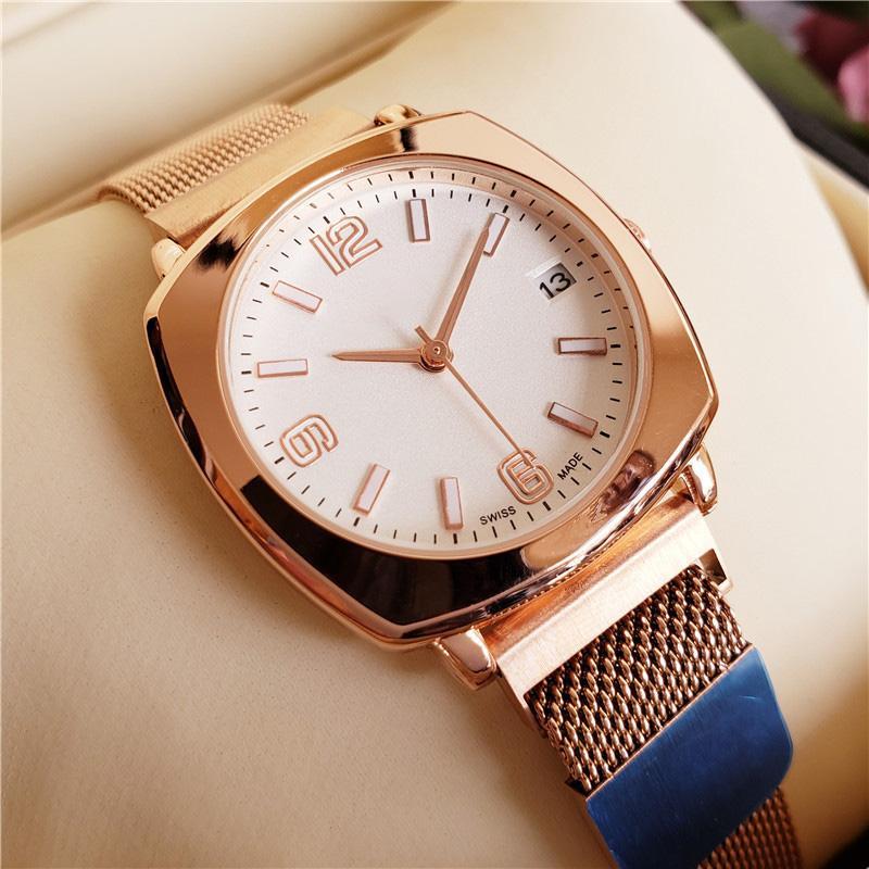 Hot Verkauf von Luxus-Frauen-Uhr-Magnetic Buckle Strap Business Casual Marke Mode-Quarz-Uhr