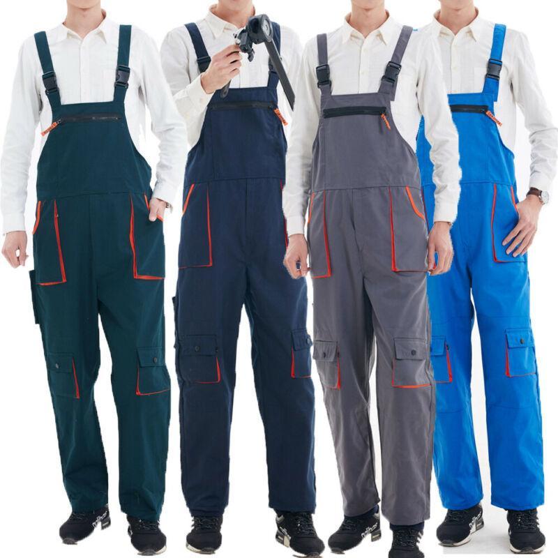 Grande taille 4XL Pantalons bavoir Mode homme Vêtements fonctionnels hommes lourds travail Jumpsuit Salopette Mécanicien de Combinaisons Pantalons intérieur