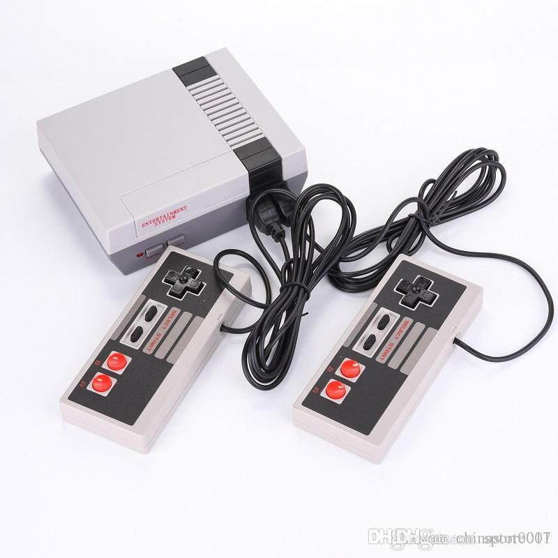 Mini TV video Game Consoles 2018 Newest Handheld Classic game player For 8bit 620 NES Game Console Kids Birthday Christmas Gift Best Quality