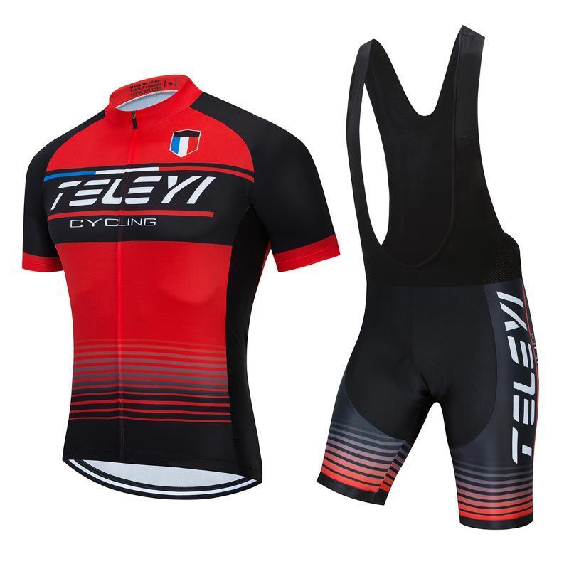 2020 Homens Ciclismo Jersey bicicleta Bib Calças Roupa Define estrada da bicicleta Roupa MTB Vestido Suit Pro Triathlon Uniforme Sport Kit Maillot
