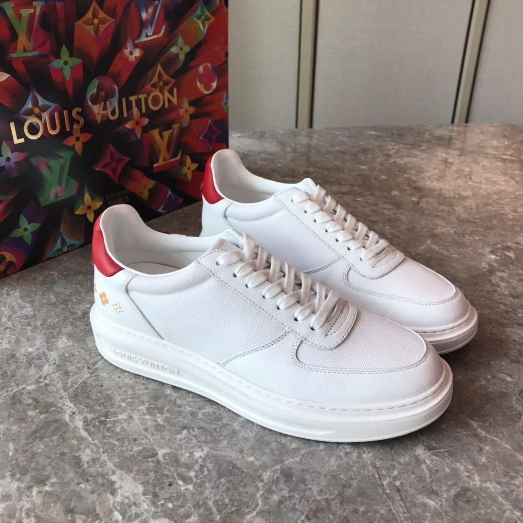 2020Designer NEW Mens sapatos Trainers SneakersLVLouisBusiness Casual sapatos masculinos 38-45 00784472