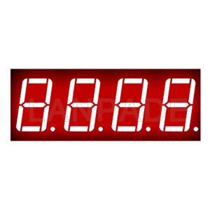 LED 7-Segment-Anzeige 0,56 Zoll Red Vier-Digit CC 7seg Seven Seg Figur-8-DHL-freies Verschiffen