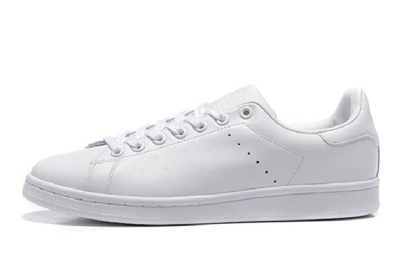 Nouveau design de haute qualité Newsest Stan Chaussures Mode Marque Smith cuir Hommes Femmes Classique Flats Chaussures Casual