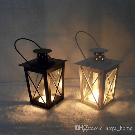 Envío Gratis candelabros T-730 hierro vela titular romántico boda marroquí viento luz hogar creativo decoración del hogar 02