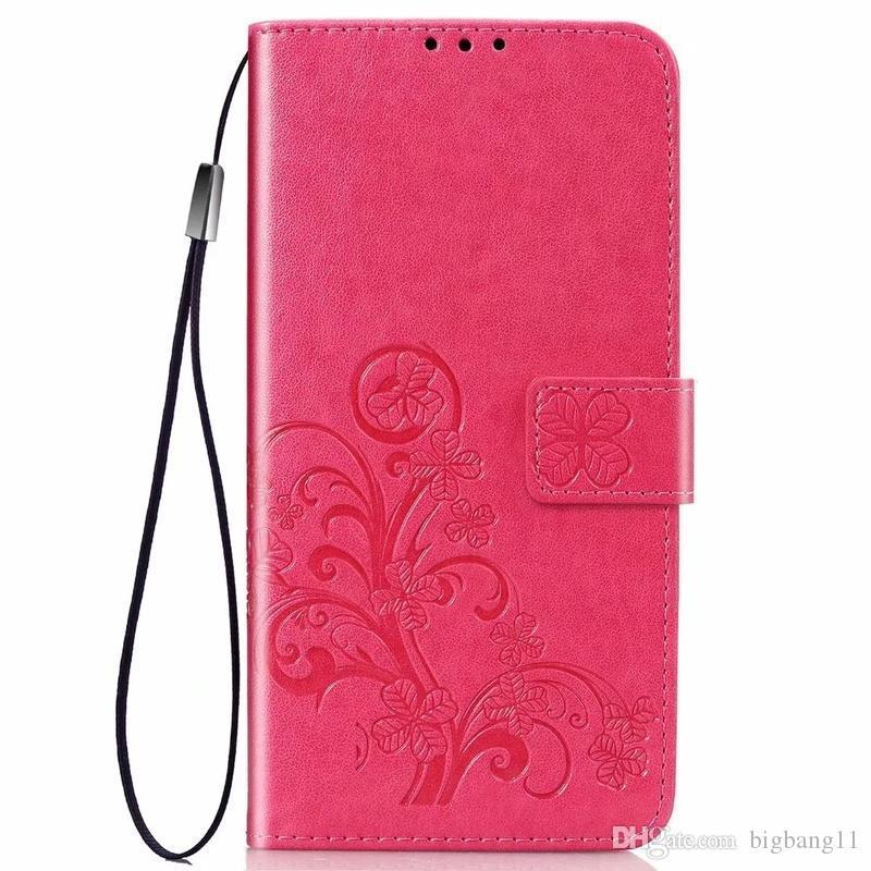 Klasik Çiçek Rölyef Deri Flip Kılıf iphone 11 Pro XR XS Max Kitap Stil Kart Yuvaları Standı Standı Iphone 6 6 S 7 8 Artı