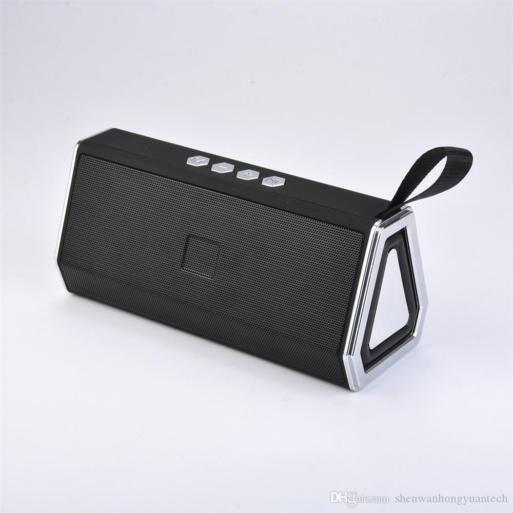 Outdoor Bluetooth Speaker Computer Phone Card Outdoor Strap Subwoofer Bluetooth Speaker Support TF AUX POWER BANKS 1+1 pairing link