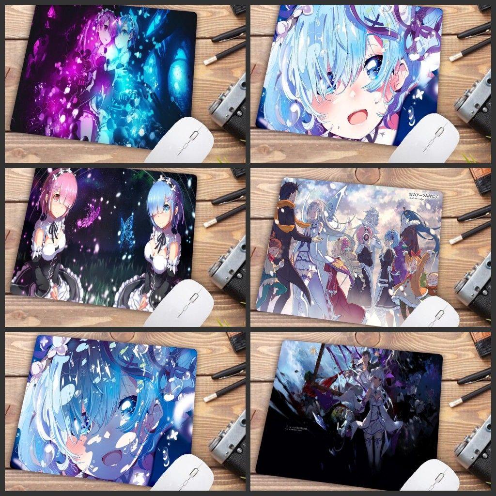 Souris Claviers Tapis Mairuige Big Promotion Rem Re Zéro Anime Girl souris Anime Durable Tapis Version Tapis de souris d'ordinateur souris de jeu