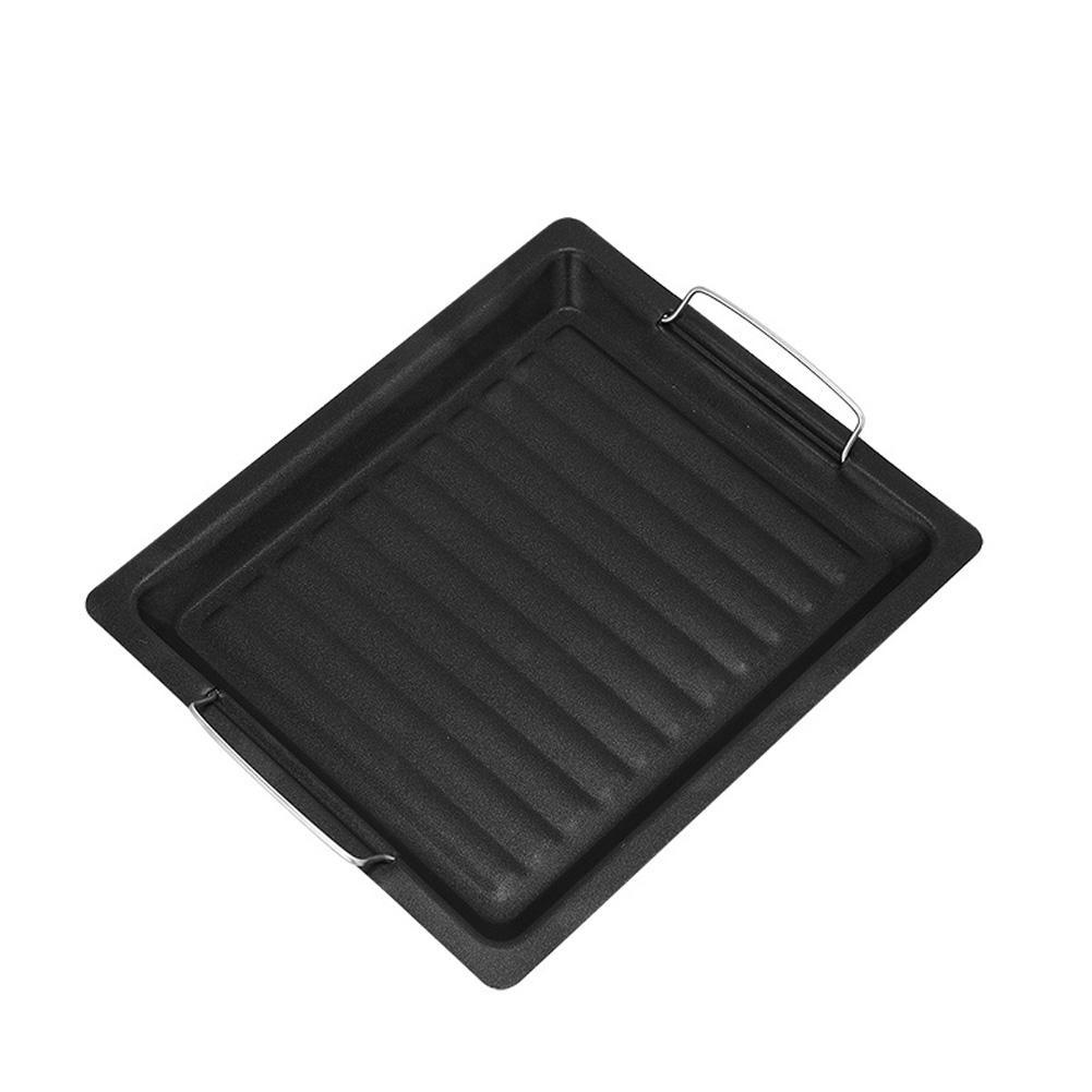 Extérieur Bakeware Poêle plaque à usage domestique non-adhésive Plateau Barbecue