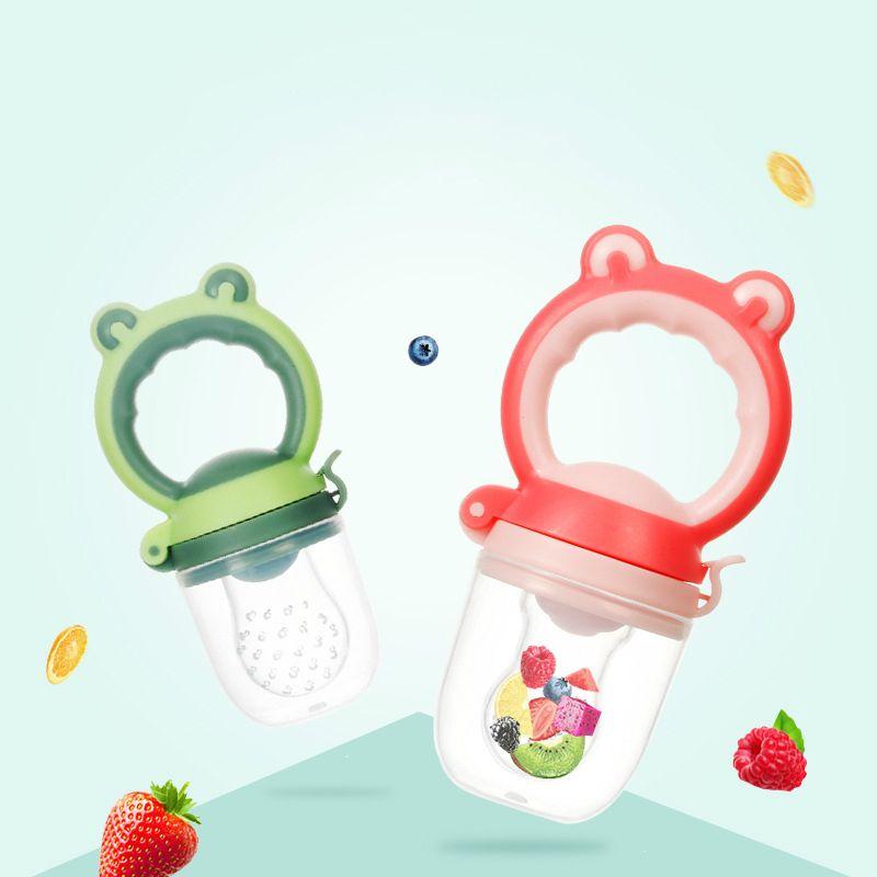 Новый стиль детские соски бутылки ниппель детские фрукты и овощи жевать инструменты младенческие дети ниппель кормление Безопасный Силиконовый Фидер