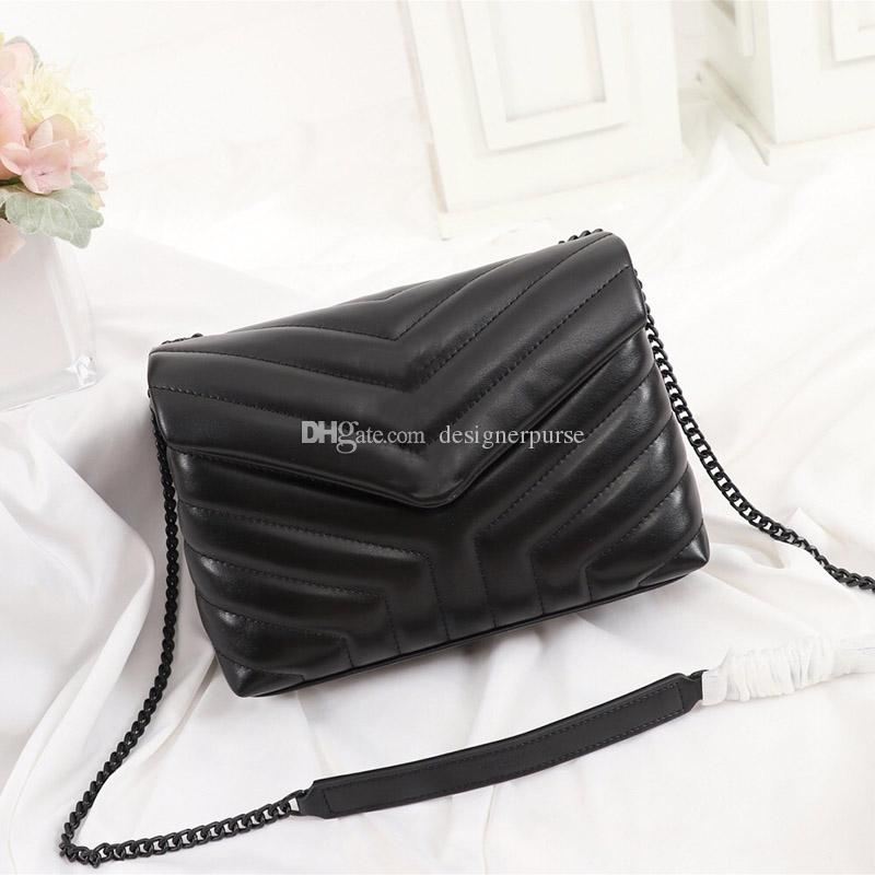디자이너 럭셔리 핸드백 진짜 가죽 여성 가방 디자이너 여성의 어깨 가방 패션 플랩 가방 긴 체인 메신저 가방