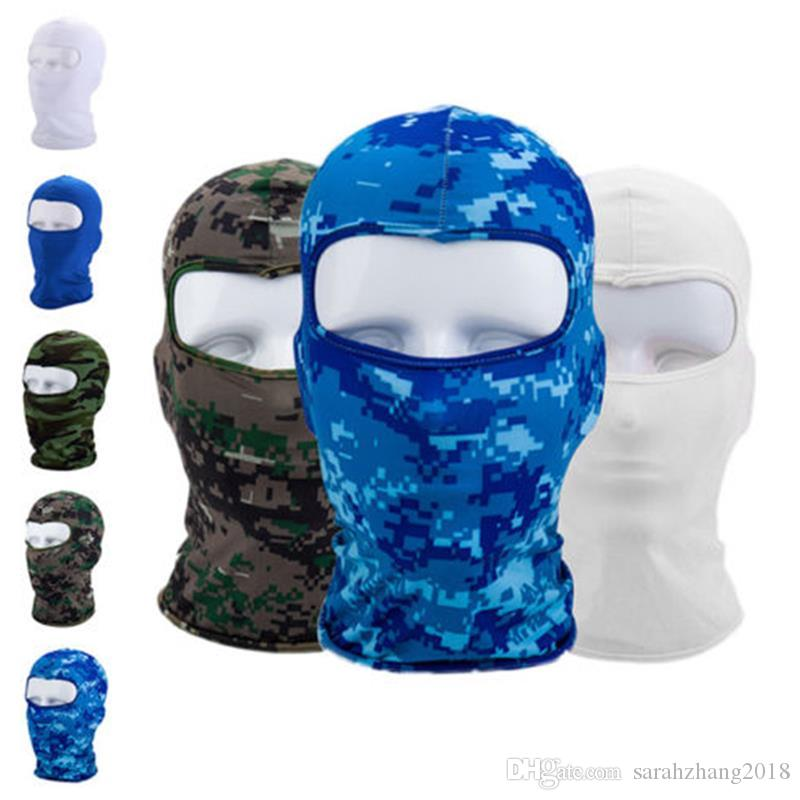 Motorcycle Face Mask Ski Snowboard Outdoor Sports Neck Wind Cap Police Cycling Balaclavas Face Mask For Face Neck