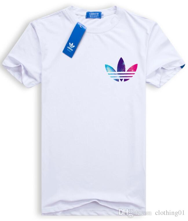 2019 moda hombre camiseta venta al por mayor verano nuevo algodón manga corta camiseta hombres suelta transpirable deportes baloncesto camiseta hombres S-3XL