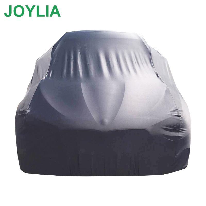 190T полиэстер Ткань Автомобильная крышка непромокаемые Пылезащитно Солнцезащитный Пылезащитно снег доказательство высокого качества All-черный чехол для автомобилей SUV