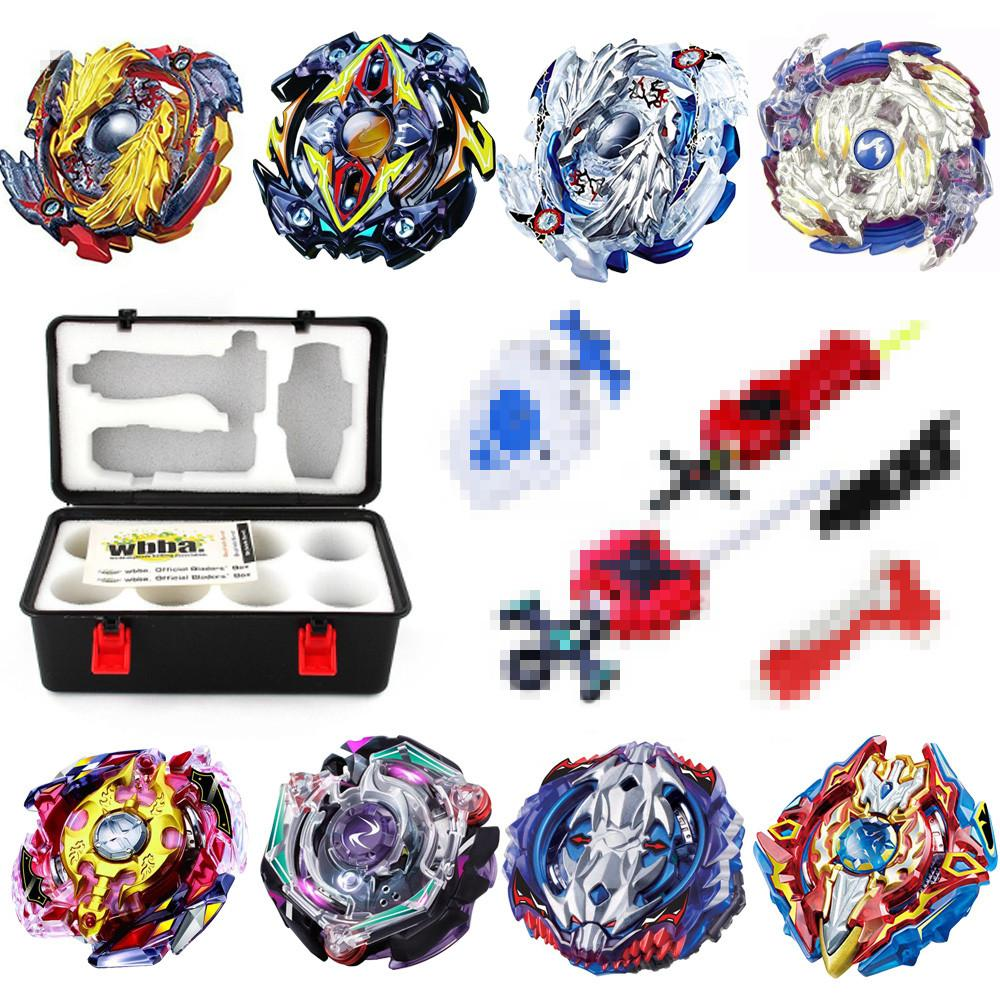 OP Beyblade Burst B00 With Launcher and Box Kids Boys Funny Toys Starter Zeno Excalibur .M.I (Xeno Xcalibur .M.I) Bables Toy