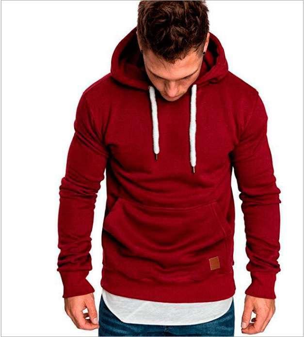 mens maglione uomo progettista felpa con cappuccio Primavera Autunno Pullover Casual Top sportivo Nuovo