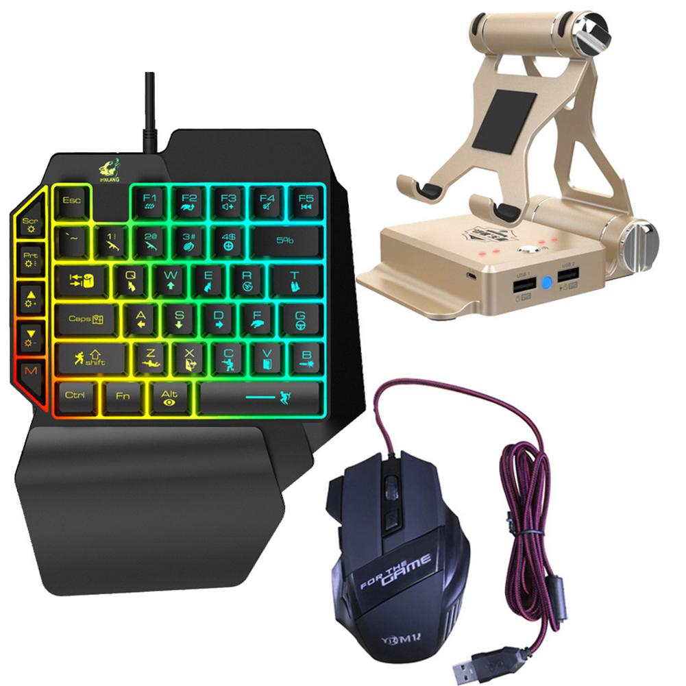 X1 BattleDock teclado-ratón-convertidor de Bluetooth Gamepad Para FPS juego móvil como la DQO PUBG AOV Freefire
