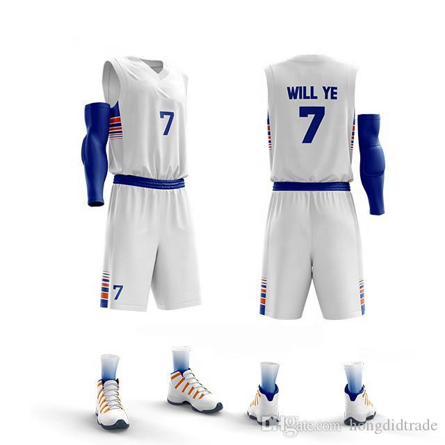 Пользовательские Взрослые Мужчины Дети Баскетбол Униформа Спортивные Тренировки Баскетбол Трикотажные Наборы Одежда Рубашка Жилет Короткие трикотажные комплекты