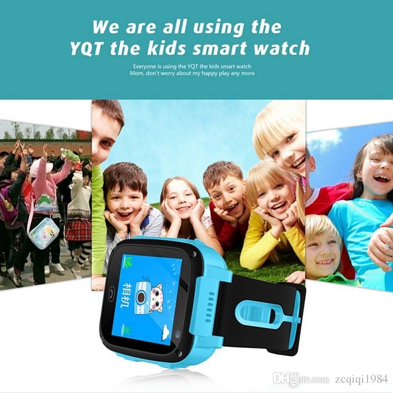 Crianças smartwatch q9 pressão arterial monitor de freqüência cardíaca smart watch ip67 esportes à prova d 'água rastreador de fitness watch para ios android