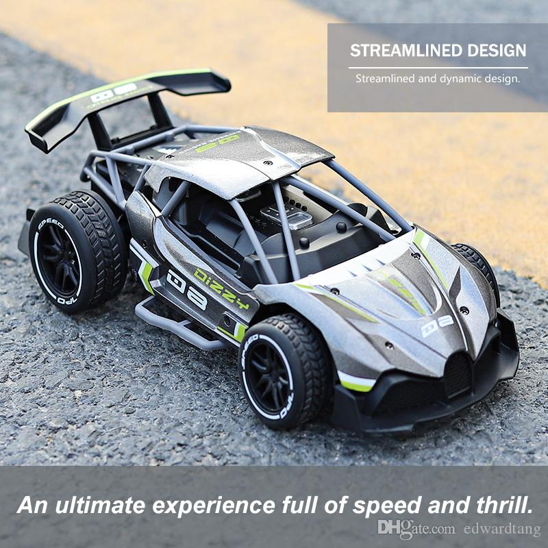 SLONG Diecast Alloy 2.4G-RC-Racing Car Toy, High Speed 15 KM/H, 1:16 F1 Power Wheels, Cool-Drift, Multiplayer-Sport, Kid Christmas Gift, 2-1