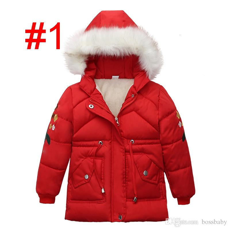 Le ragazze cappotto invernale 3-4 anni RRP £ 36