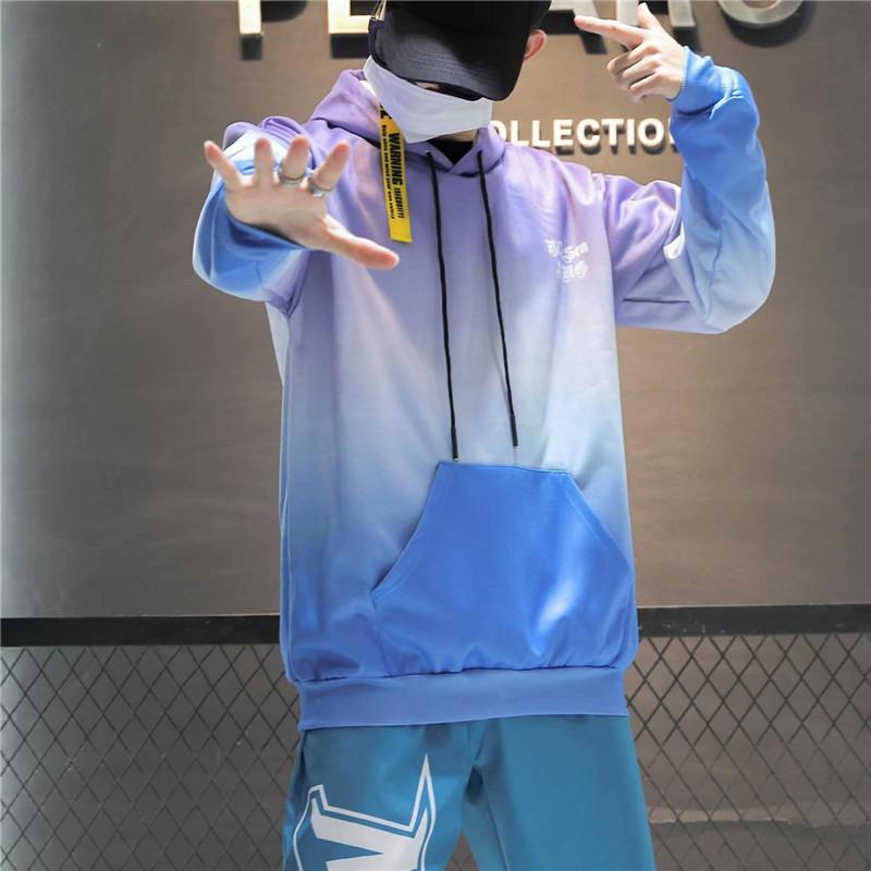 Moda Harajuku Hoodie Kazak Erkek Casual Hip Hop Japonya Baskı Hoodie Streetwear Giyim Sonbahar High Street Boy Tops