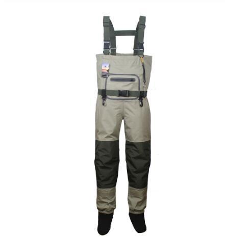 Erkek Balıkçılık Waders Avcılık Göğüs Wader açık Nefes Giyim Sığ Pantolon Su Geçirmez Giysiler tulum çorap ayak