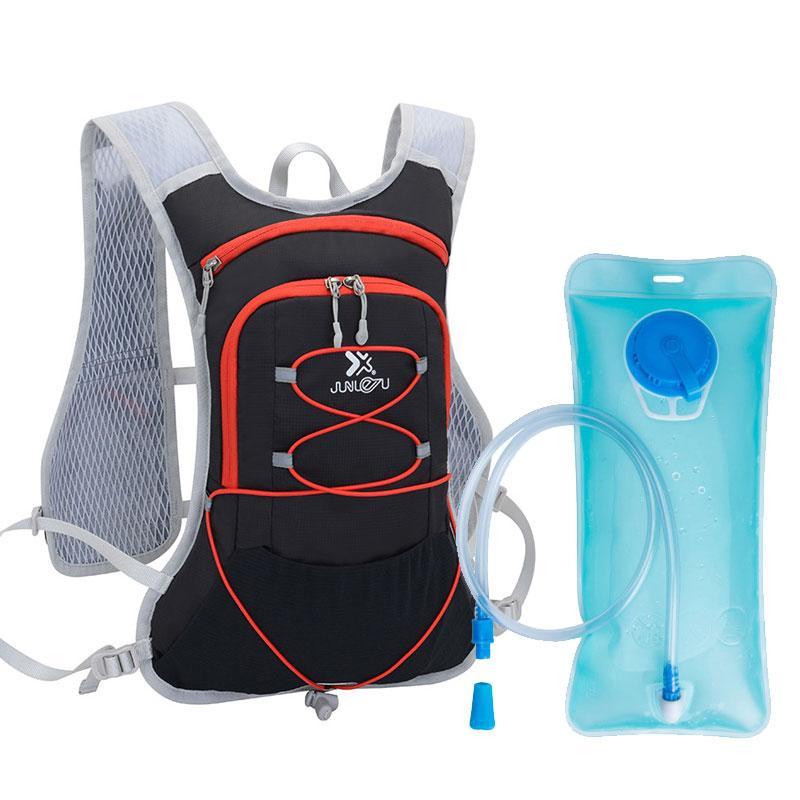 Sac à dos en plein air Hydratation 2L Sac d'eau avec la vessie eau Cyclisme Randonnée Camping Sac Alpinisme Voyage