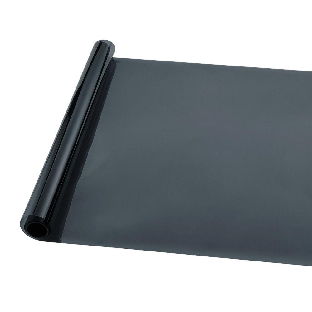 50 * 300 cm Araba Pencere Tonu VLT 5% Perdeleri Renklendirme Filmi Güneş Koruma Oto Yan Pencere için Güneş Gölge