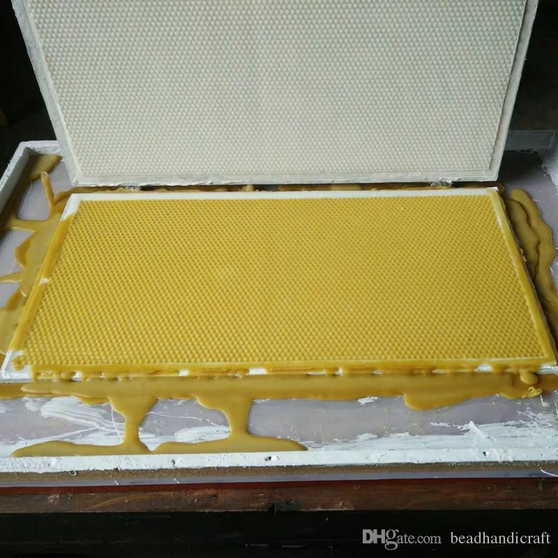 2019 nuevo modelo de fácil operación máquina de base de cera de abejas, máquina de base de cera de abejas portátil, máquina de base portátil