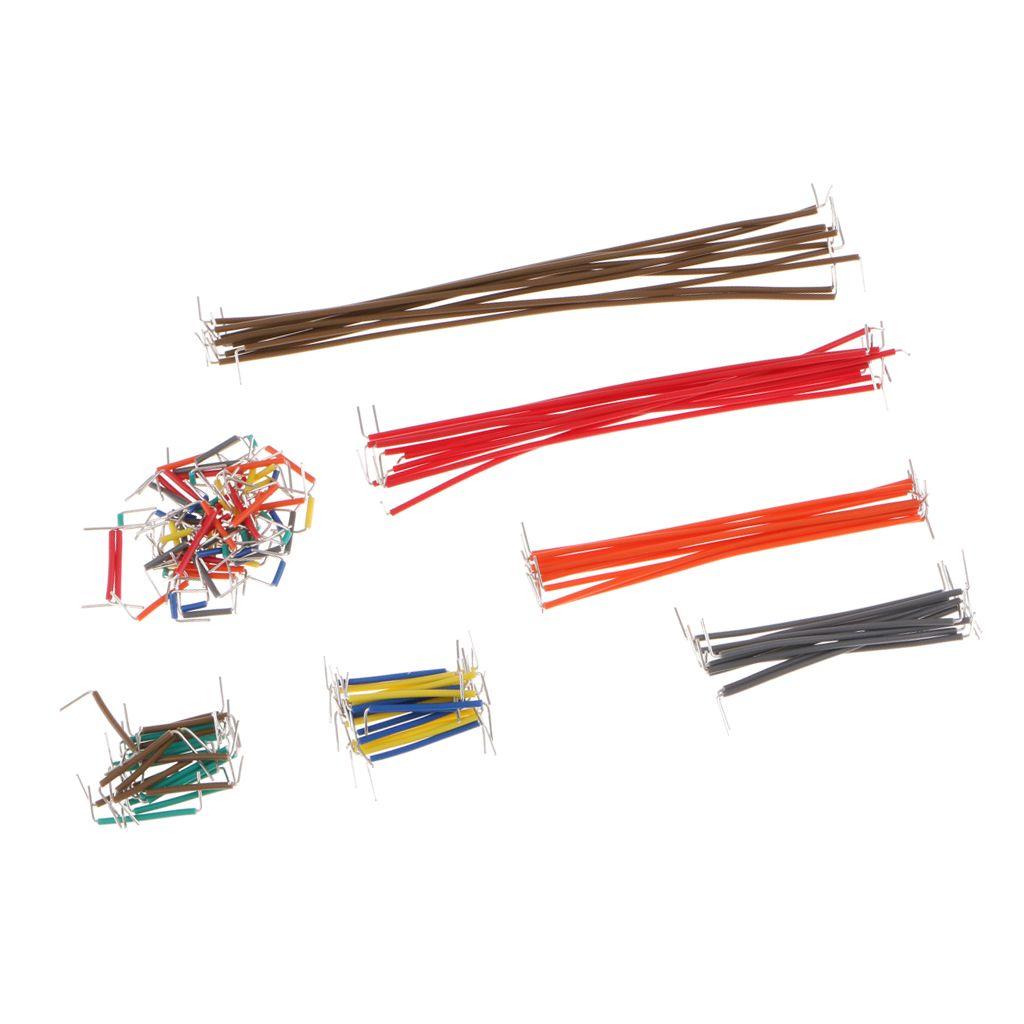 140pcs//box U Shape Solderless Breadboard Jumper Cable Wire for DIY Shield