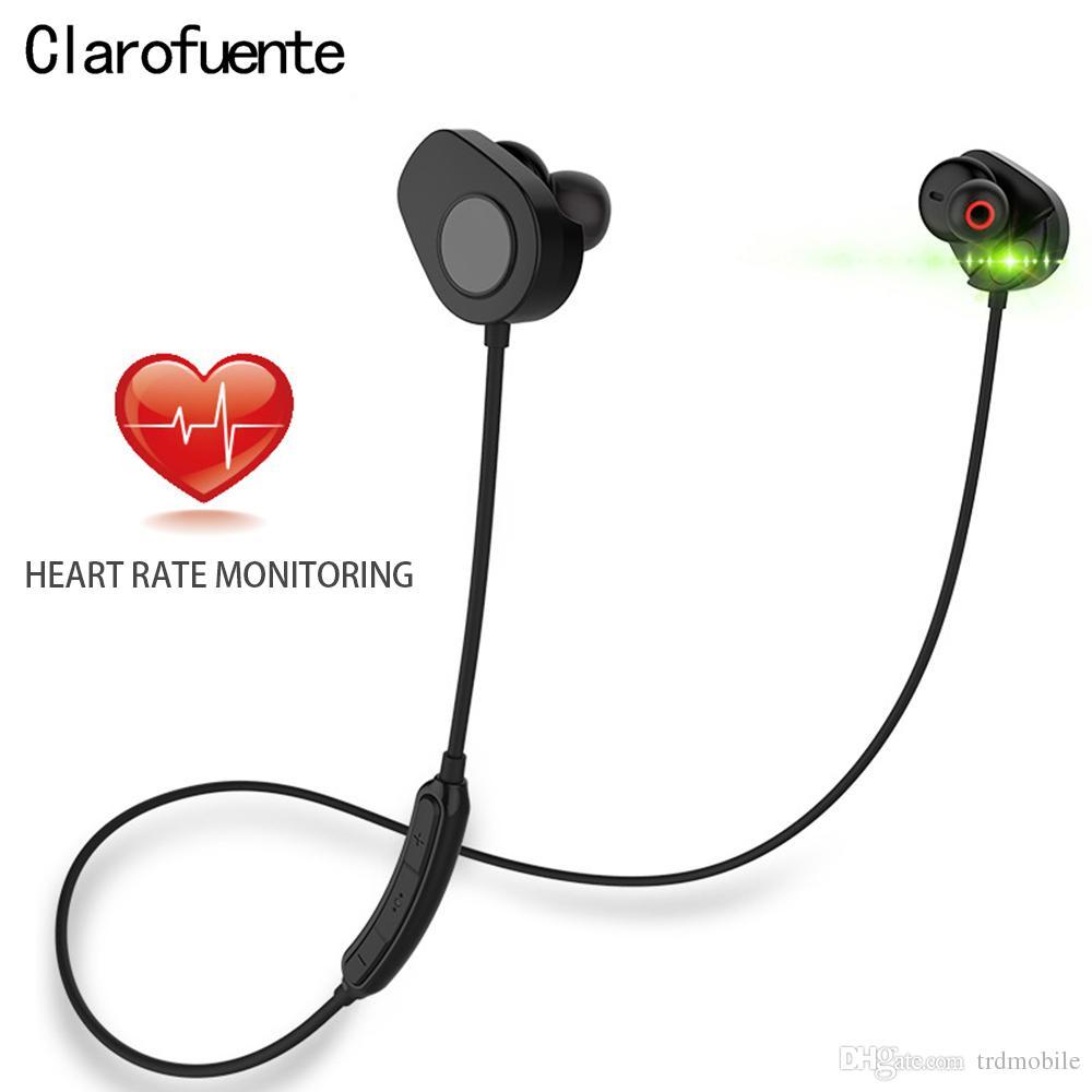 القلب الذكي 150 ساعة معدل ضربات القلب Bluetooth5.0 سماعة كشف الحركة للماء سماعات لاسلكية سماعات HI-FI الرياضة لالروبوت IOS