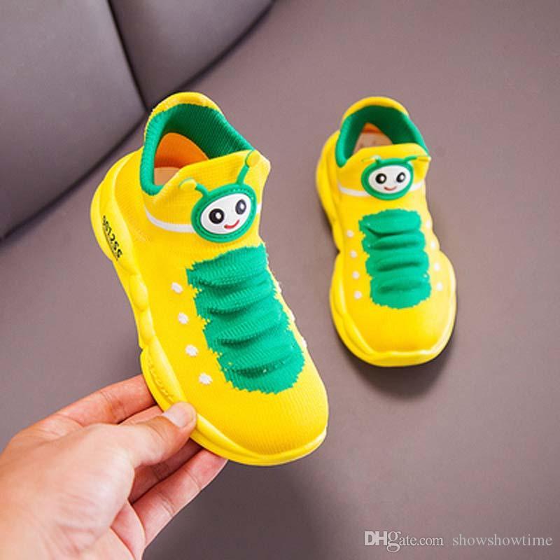 Caterpillar Детская обувь Дизайн три цвета детской обуви весна осень Спорт Открытый Wear Дешевые Мальчики обувь