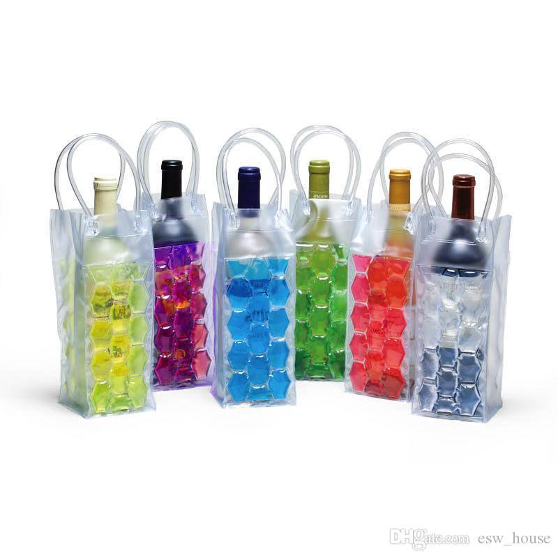 Wine Bottle Freezer Bag Wine Chilling Cooler Ice Bag Beer Cooling Gel Holder Carrier Portable Liquor Ice - cold Tools