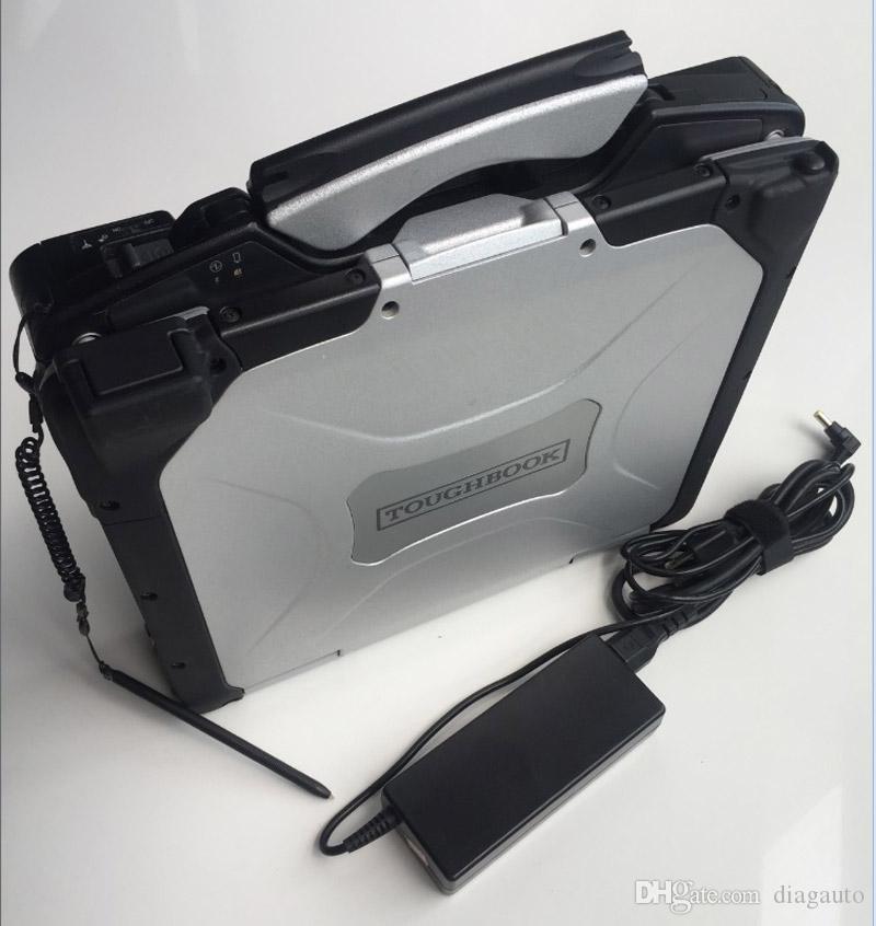 deuxième ordinateur portable à la main Toughbook CF30 CF30 ram auto ordinateur diagnostic 4g Garantie 2 ans pour choisir hdd mb c3 c4 c5 BMW Icom