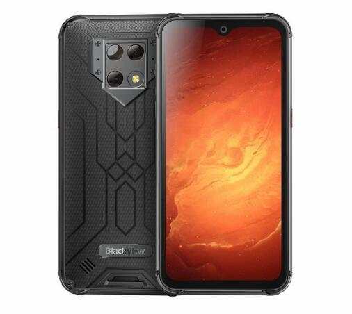 Blackview BV9800 Pro Global First Thermal imaging Smartphone Helio P70 Android 9.0 6GB+128GB Waterproof 6580mAh Mobile Phone