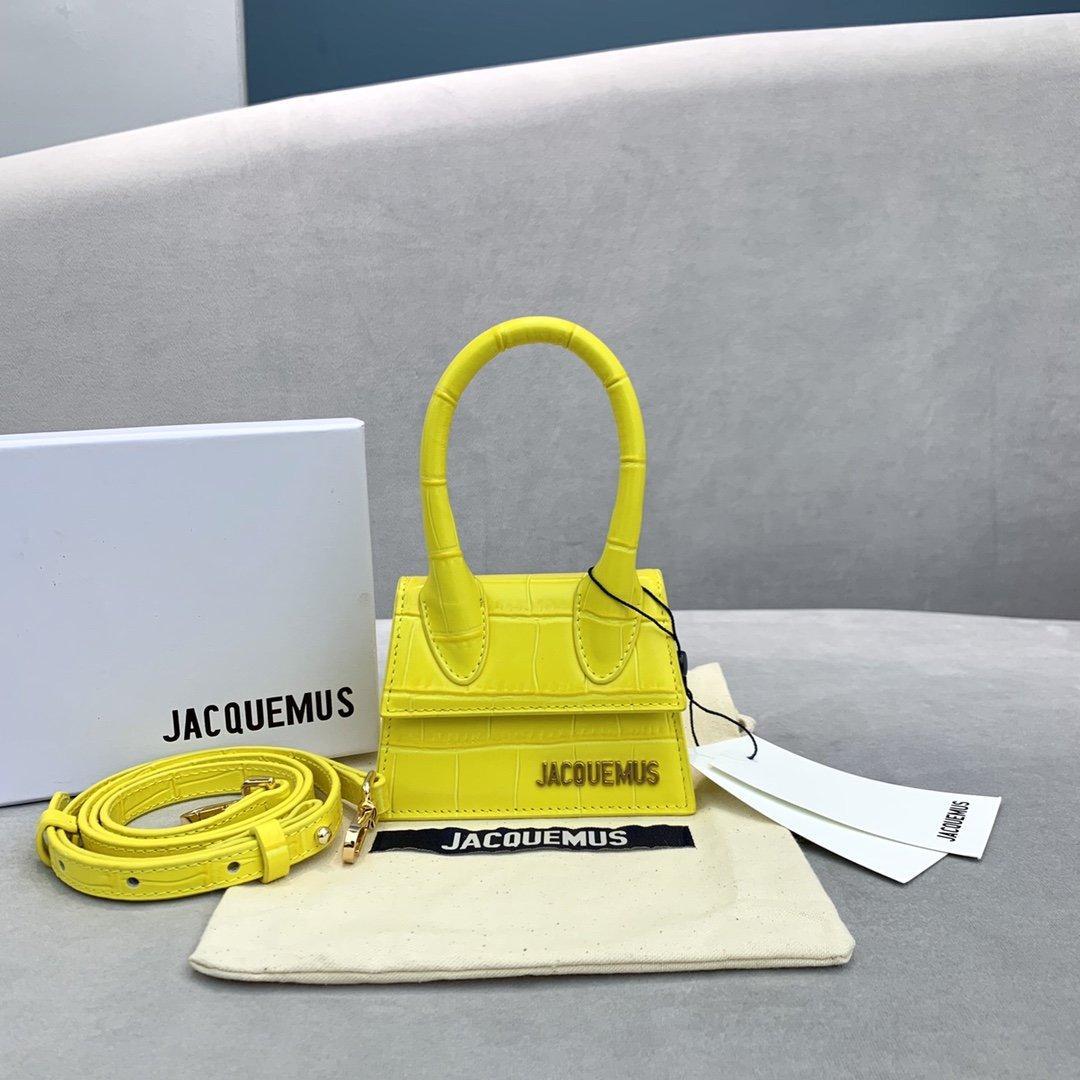 새로운 고급 브랜드 핸드백 Jacquemus 미니 아내와 딸이 좋아하는 선물 악어 패턴 어깨 메신저 여성 크로스 바디 가방 디자이너