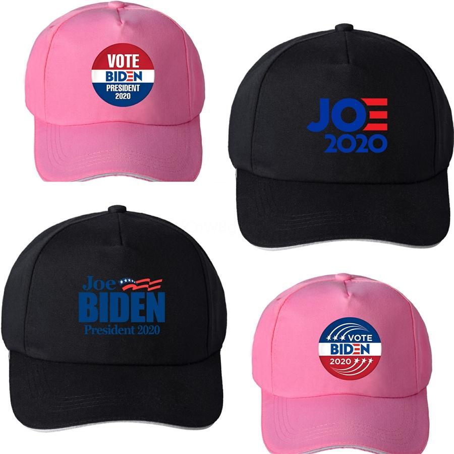 Donald Biden 2020 Baseballmütze Patchwork Gewaschene Außen Make America Great Again Hat republikanischen Präsidenten Kult Sports Cap Ljja-2423 # 512