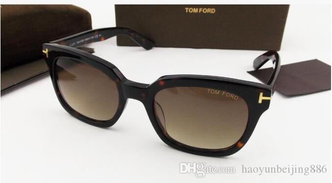 Lüks üst qualtiy Adam Kadın Için Yeni Moda 211 Tom Güneş Gözlüğü Erika Gözlük ford Tasarımcı Marka orijinal kutusu ile Güneş Gözlükleri