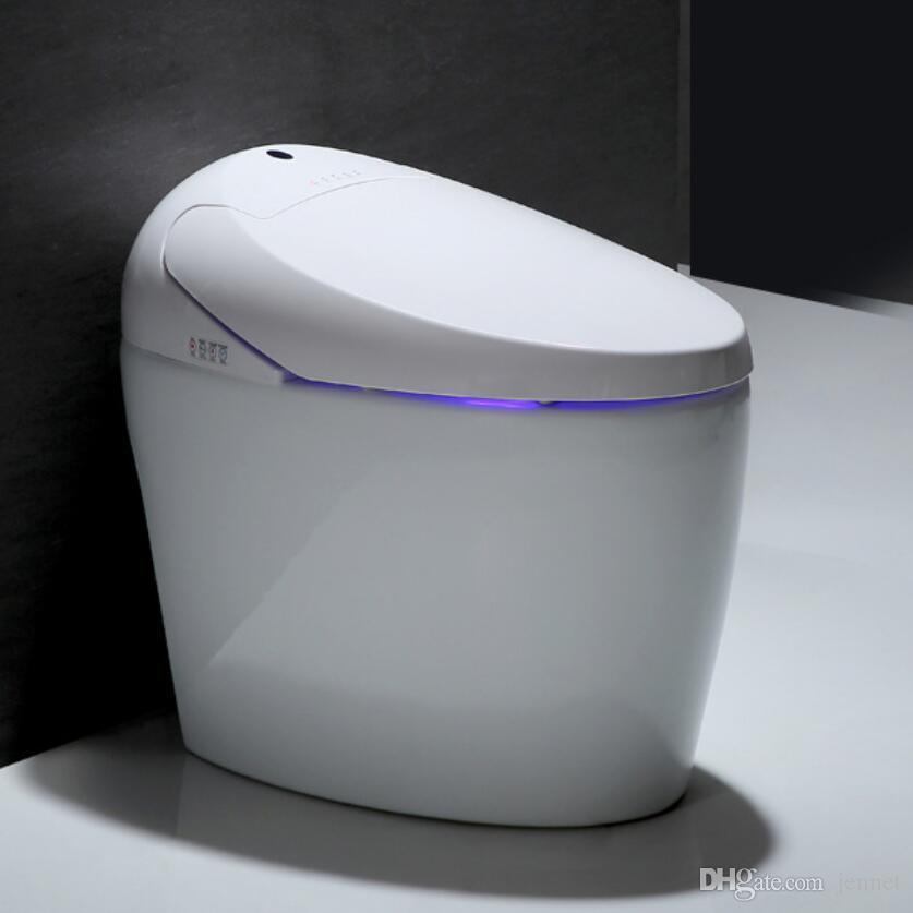 An der Wand montierte integrierte intelligente Toilette automatische Spülung desodorierende Toilette Multifunktions-Warmwassertoiletten OEM