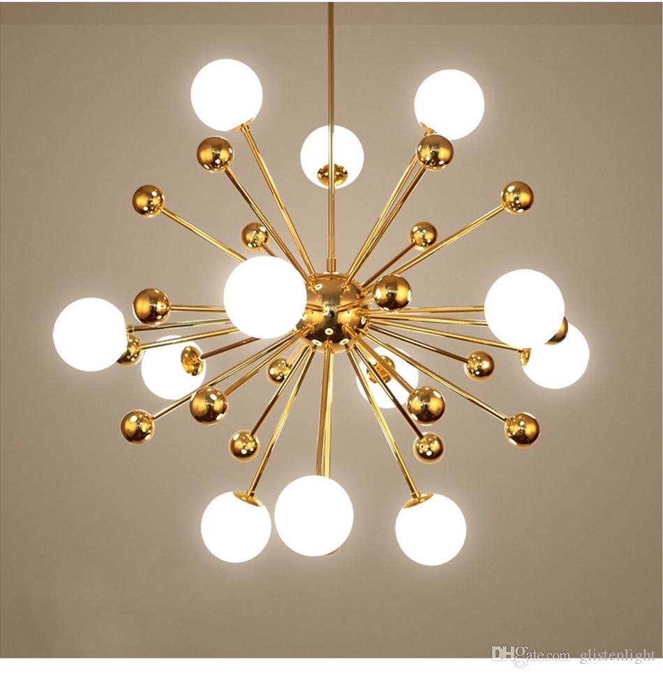 الزجاج الحديث الكرة الثريا الإضاءة الاطفال نوم الطعام غرفة المعيشة مصباح الشمال الديكور المنزل المطبخ مصابيح الضوء الأبيض