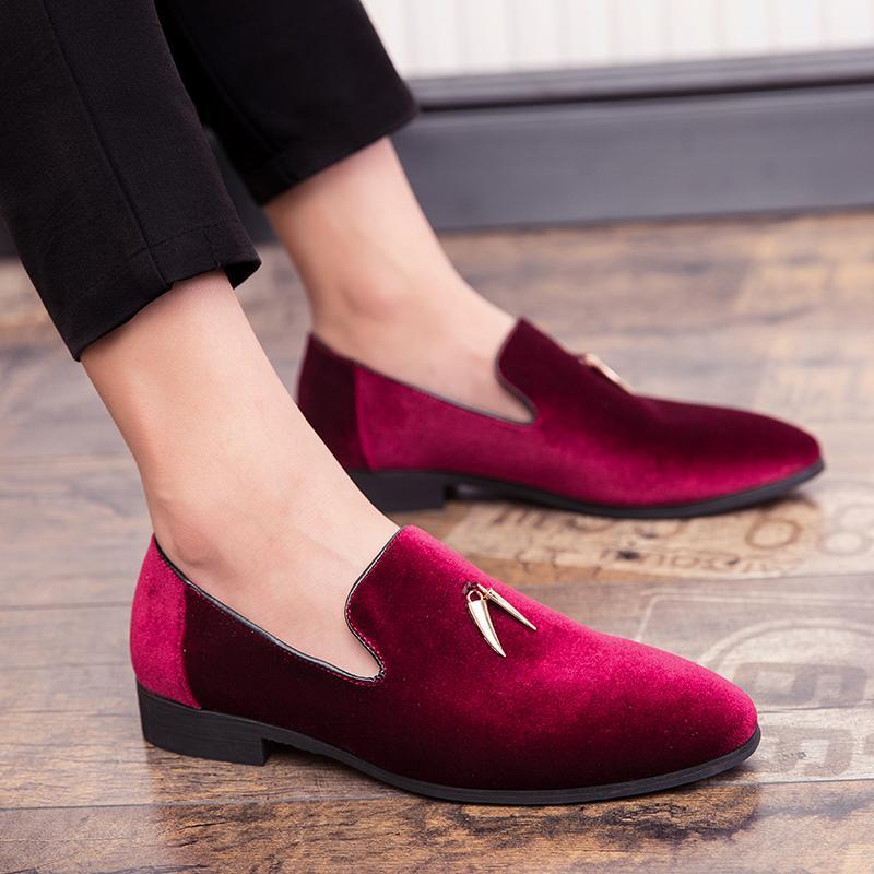 2019 moda Erkek deri ayakkabı yüksek dereceli Oxford deri rahat ayakkabılar italya büyük boy 47 klasik loafer sonbahar